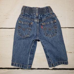 Levi's 3/6 month denim jeans